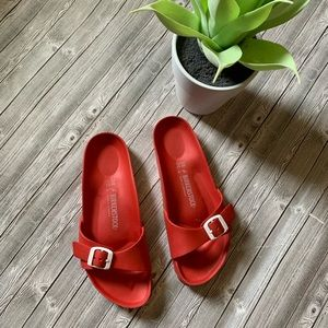 Birkenstock Red EVA Madrid Sandal